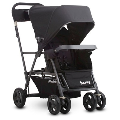 Joovy Caboose Ultralight Graphite Stroller - Black