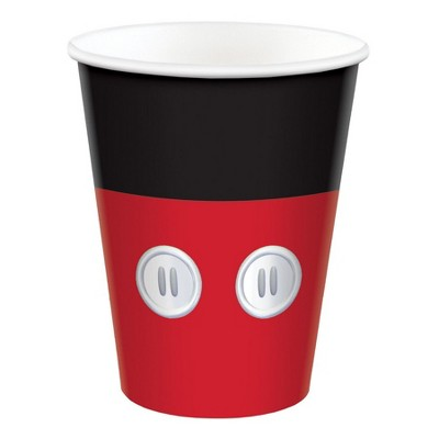 Birthday Express Mickey Mouse Forever Paper Cups - 8 Pack