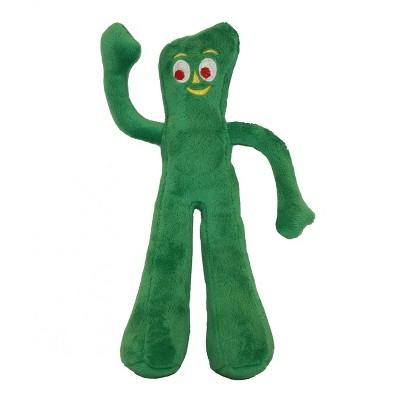 "Multipet Gumby Plush Dog Toy - 9"""
