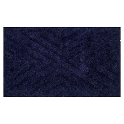 Textured Stripe Bath Rug (23 X38 )Mood Ring Blue - Project 62™ + Nate Berkus™