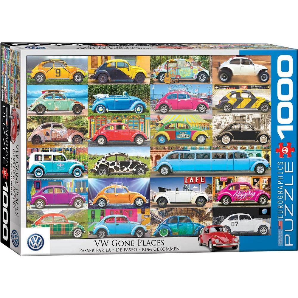 EuroGraphics VW Beetle Gone Places 1000pc Puzzle
