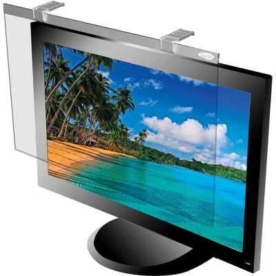 """Kantek LCD Protective Filter 24"""" Monitor Anitglare Silver LCD24W"""