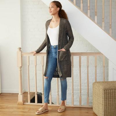 Women's Long Sleeve Duster Cardigan - Knox Rose™