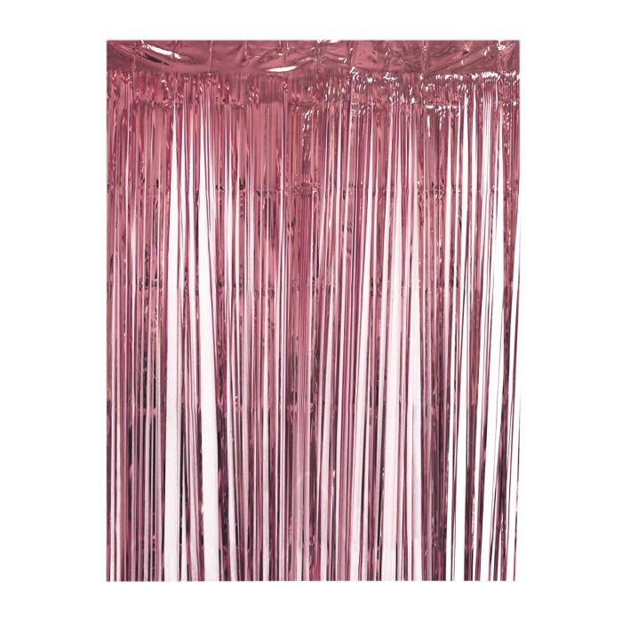 Fringe Backdrop Rose gold - Spritz™ - image 1 of 1