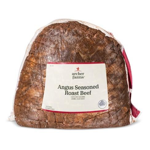 Angus Seasoned Roast Beef - Deli Fresh Sliced - price per lb - Archer Farms™ - image 1 of 1