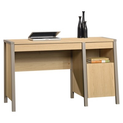 Beau Affinity Office Desk   Urban Ash   Sauder