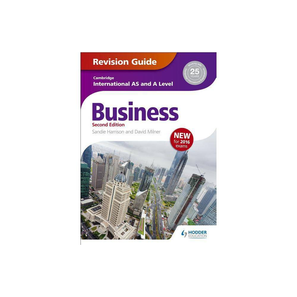 Cambridge International As/A Level Business Revision Guide 2nd Edition - (Paperback)