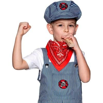 Underwraps Train Engineer Hat Child Costume Accessory | One Size