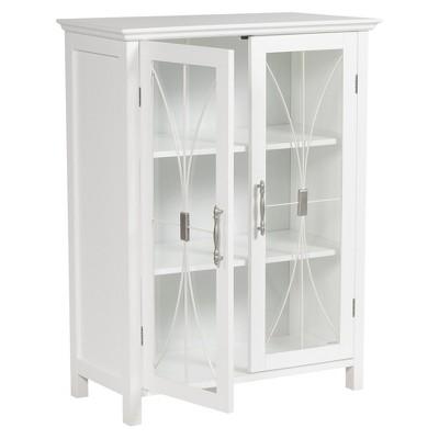 Charmant Fashions Symphony 2 Door Floor Cabinet White   Elegant Home Fashions :  Target