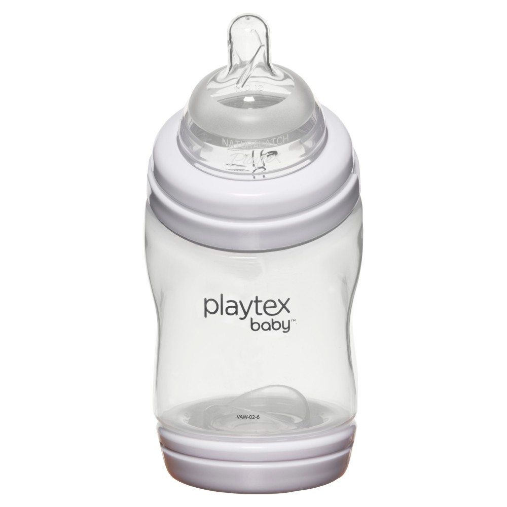 Image of Playtex Baby VentAire Complete Tummy Comfort 6oz 3pk Baby Bottle, Clear