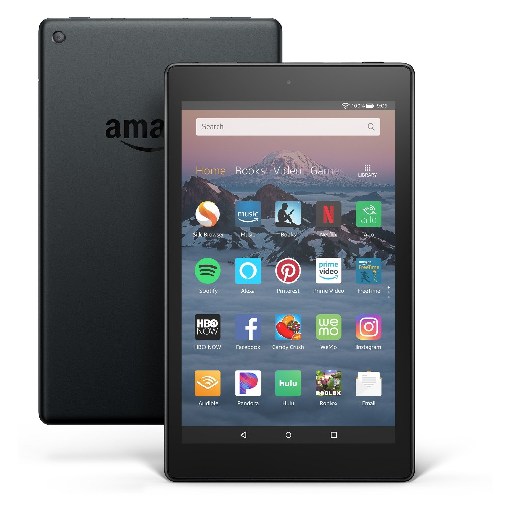 "Fire HD 8 Tablet 8"" HD Display, 16 GB, Black (with Special Offers)"