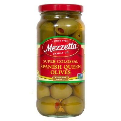 Mezzetta Super Colossal Spanish Queen Olives - 10oz