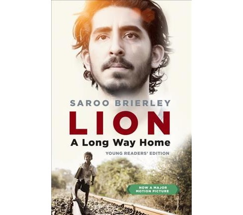 Lion : A Long Way Home - Young Readers' Edition (Paperback) (Saroo Brierley) - image 1 of 1