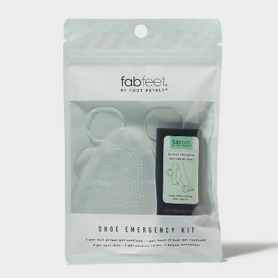 Women's Fab Feet by Foot Petals Gel Shoe Cushions Emergency Kit - Clear