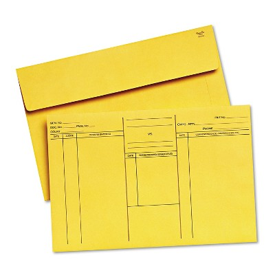 Quality Park Attorney's Open-Side Envelope Ungummed 10 x 14 3/4 Cameo Buff 100/Box 89701