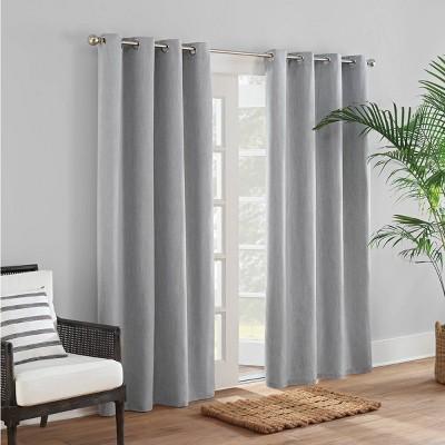 Sunbrella Canvas Solid Grommet Indoor/Outdoor Curtain Panel