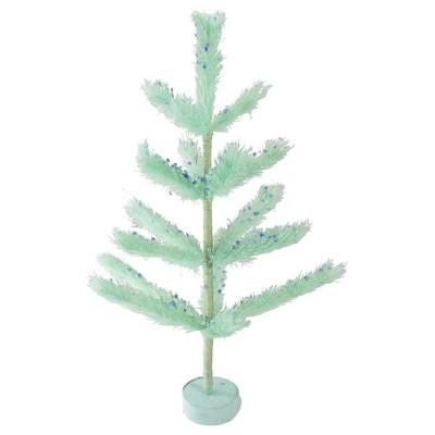 Northlight 2' Unlit Artificial Easter Tree Pastel Green Sisal Pine