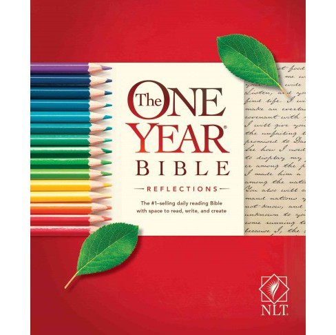 Holy Bible : The One Year Bible Reflections Edition Nlt (Paperback) - image 1 of 1