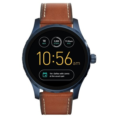 Fossil Gen 2 Smartwatch - Marshal 45mm Brown Leather