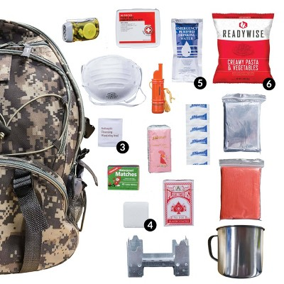 Wise Food 5 Day Survival Back Pack - Camo - 11lbs