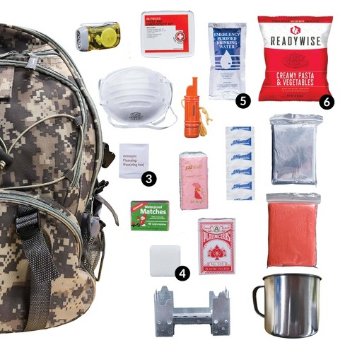 Wise Food 5 Day Survival Back Pack - Camo - 11lbs - image 1 of 4