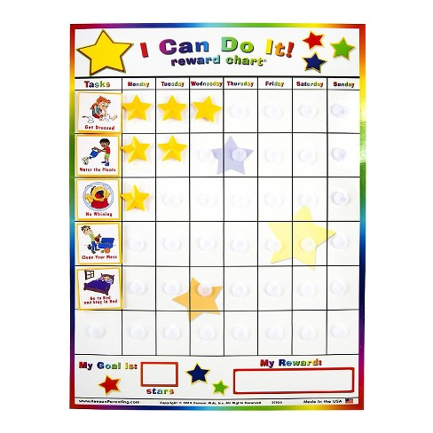 kenson parenting solutions i can do it reward chart target
