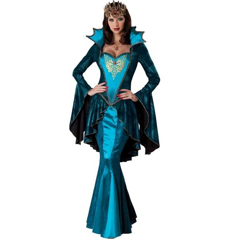 Medieval Queen Renaissance Costume Adult - image 1 of 2