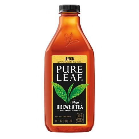 Pure Leaf Lemon Iced Tea - 64 fl oz Bottle - image 1 of 3