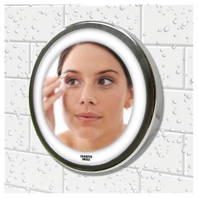 Merveilleux Ginsey Sharper Image LED Anti Fog Shower Mirror : Target