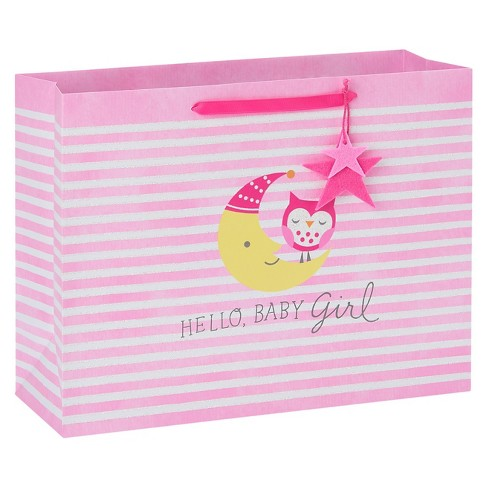 Owl and Moon Gift Bag - Spritz™ - image 1 of 2