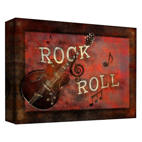 Rock And Roll Decorative Canvas Wall Art 11\