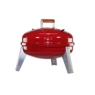 Americana 2010 Lock & Go Charcoal Grill - Red - Meco