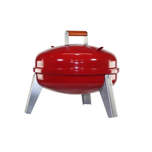Americana 2010 Lock & Go Charcoal Grill - Red - Meco - image 1 of 3