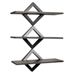 Awesome Danya B Reversed Criss Cross Wall Shelf White Target Download Free Architecture Designs Scobabritishbridgeorg
