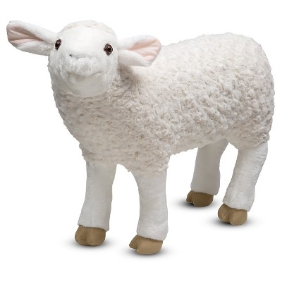 Melissa & Doug® Giant Sheep - Lifelike Stuffed Animal (nearly 2 feet tall)