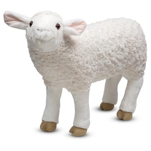 Melissa Doug Giant Sheep Lifelike Stuffed Animal Nearly 2 Feet