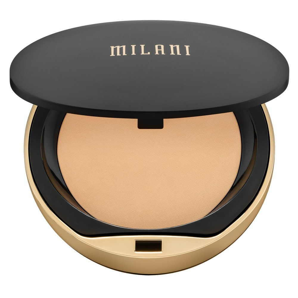 Milani Conceal + Perfect Shine-Proof Powder 03 Natural Light - 0.42oz, Dark Cappuccino