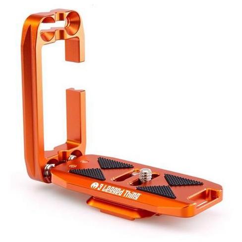 3 Legged Thing Ellie PD Universal L-Bracket with Peak Design Capture, Compatible Base, Copper, Orange - image 1 of 4