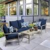 DriWeave Sapphire Leala Deep Seat Outdoor Cushion Set - Arden - image 2 of 2