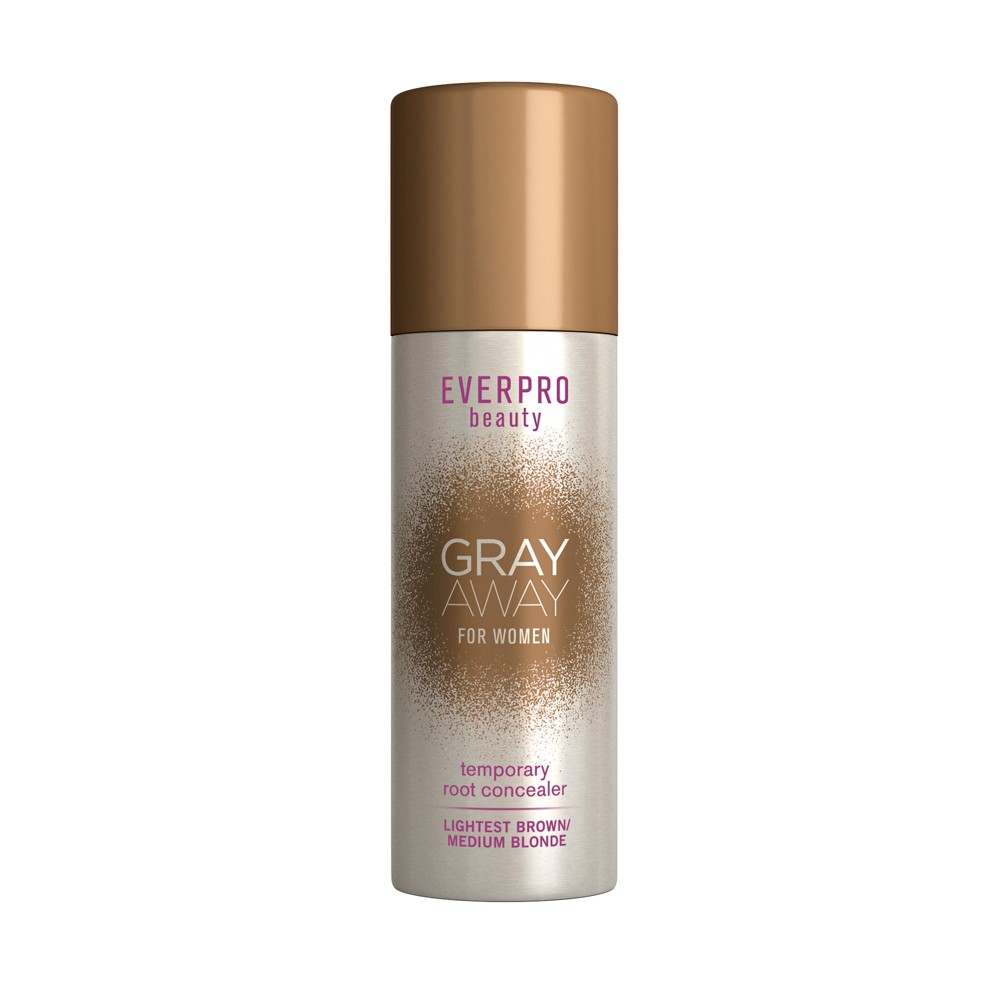 Image of EVERPRO beauty Gray Away Temporary Root Concealer - Lightest Brown/Medium Blonde - 1.5oz, lightest Brown/Medium Yellow