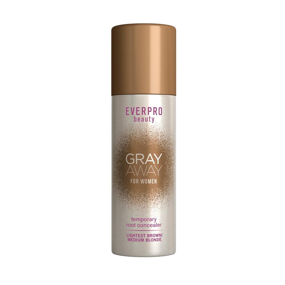 Image of EVERPRO beauty Gray Away Temporary Root Concealer - Lightest Brown/Medium Blonde - 1.5oz