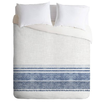 Holli Zollinger French Chambray Tassel Duvet Set - Deny Designs