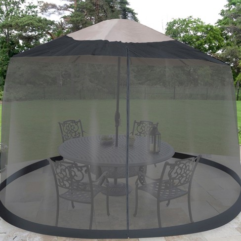 Patio Umbrella Mosquito Netting
