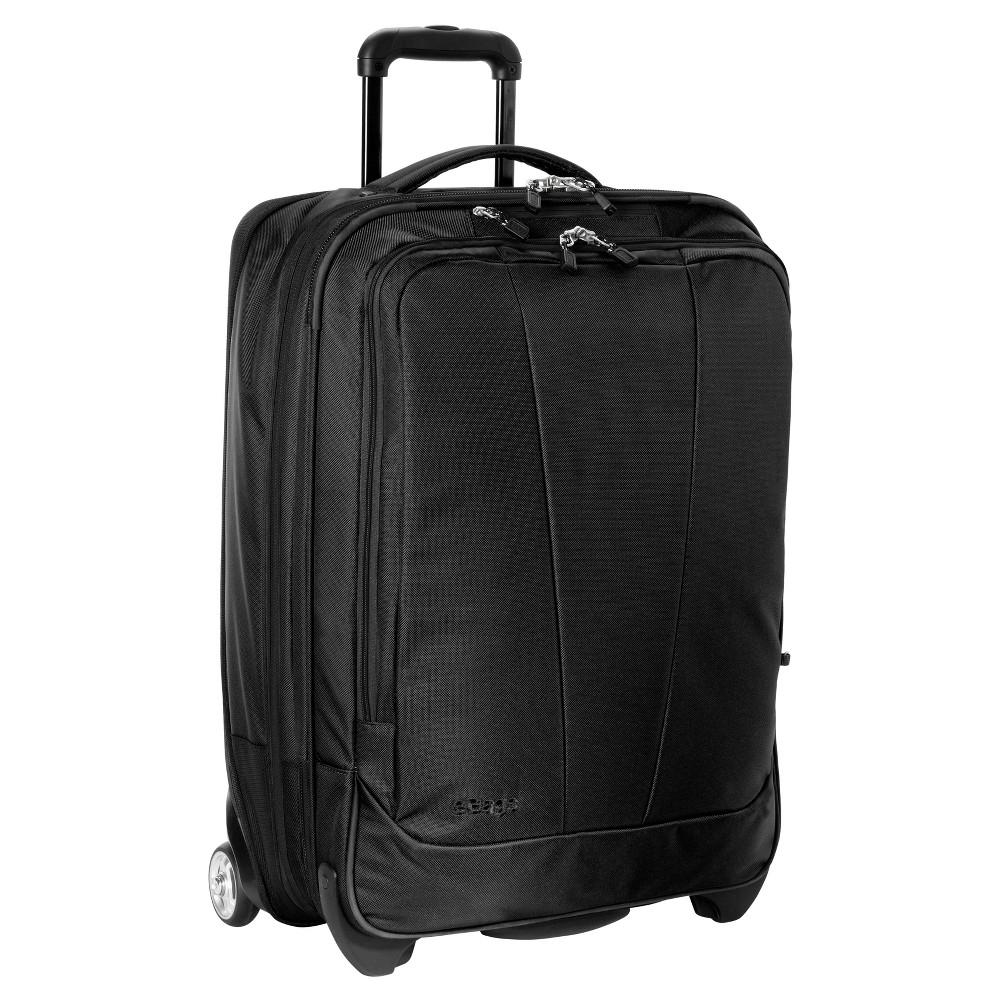 eBags Tls 25 Expandable Suitcase - Solid Black