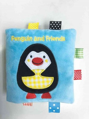 Penguin and Friends : A Soft and Fuzzy Book Just for Baby! (Hardcover)(Rettore)