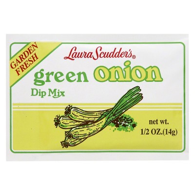 Laura Scudder's Green Onion Dry Dip Mix - 0.5oz