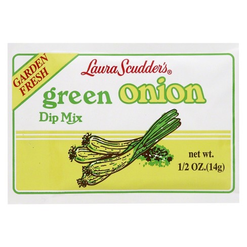 Laura Scudder's Green Onion Dry Dip Mix - 0.5oz - image 1 of 1