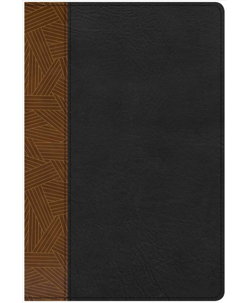 Rainbow Study Bible : Christian Standard Bible, Rainbow Study Bible, Black/Tan, Leathertouch - image 1 of 1