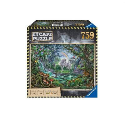Ravensburger Escape 759pc Puzzle Assortment - Unicorn