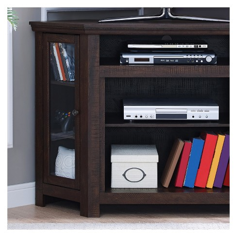 Wood 47 Corner Tv Stand Espresso Home Source Industries Target